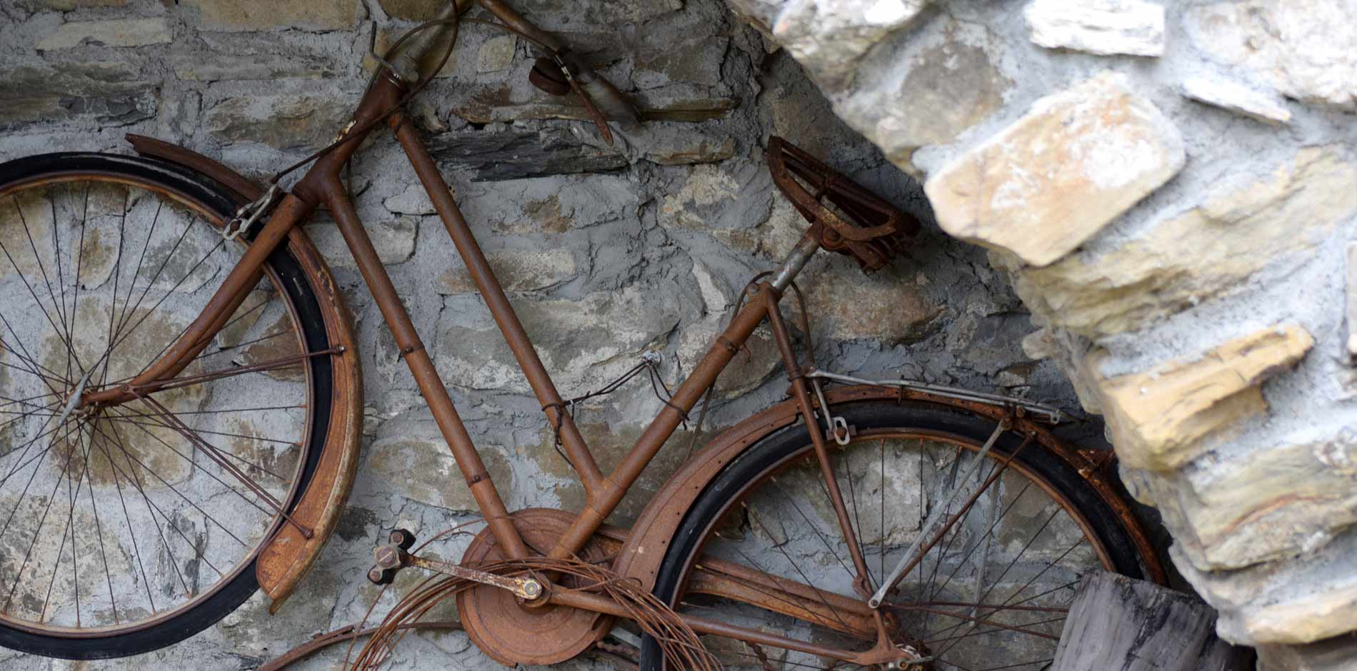 Photo of the farmhouse bicycle